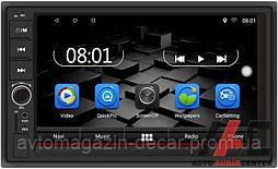 "Магнитола  2DIN SIGMA Android 8.1/Дисп.7""/BT/GPS/Play Market/16Gb/Сенсор+кнопки/4х50Вт CP-2050"