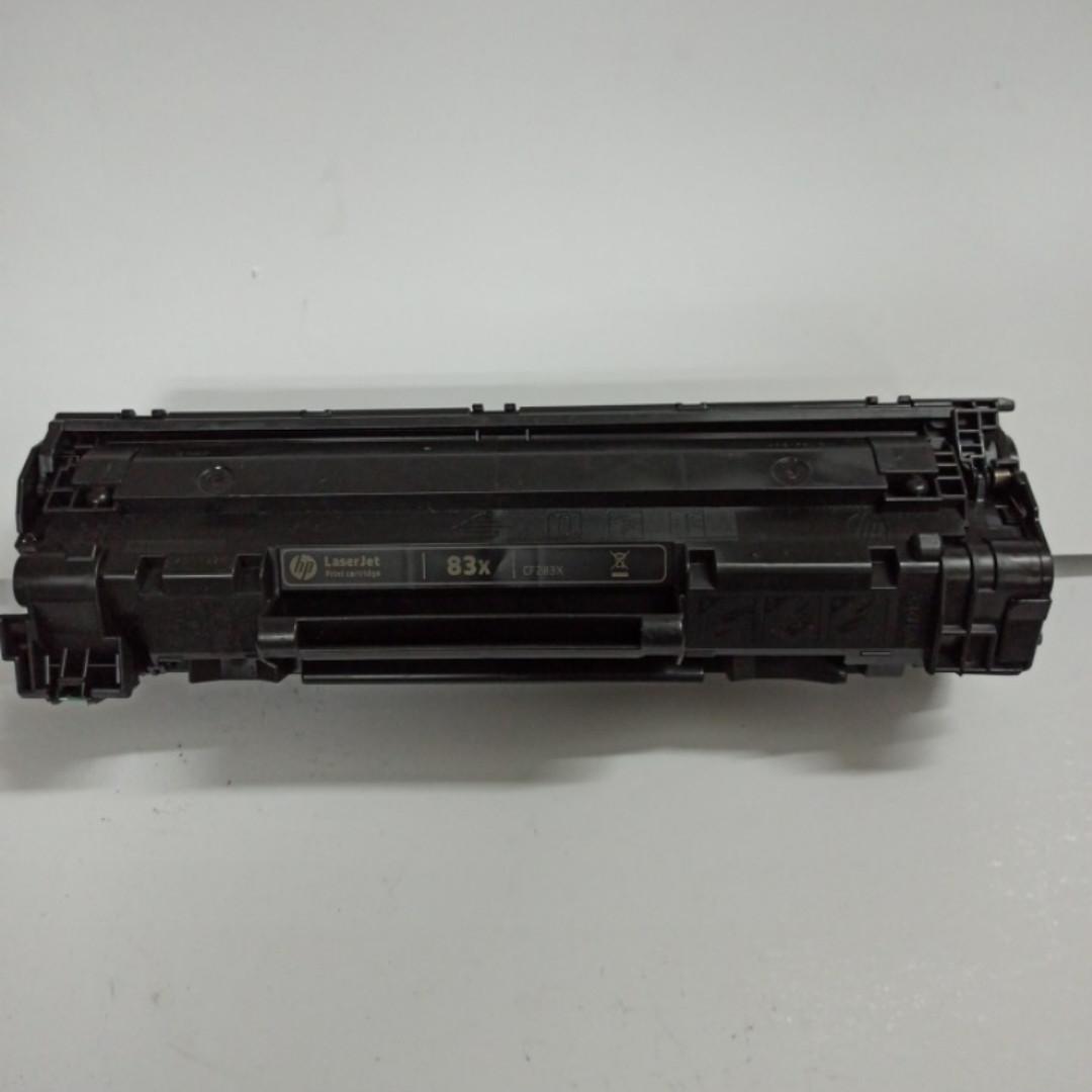 Картриджі HP 83X (CF283X) оригінальні для HP 125/127/201/225