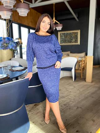 Костюм юбка+ юбка в расцветках 04р41190, фото 2