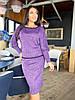 Костюм спідниця+ спідниця в кольорах 04р41190, фото 4