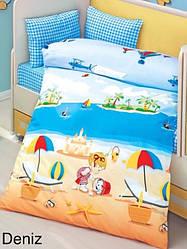 Постільна білизна ліжечко Алтынбашак RANFORCE бебі розмір 100/150 Deniz Туреччина!