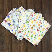 Комплект пеленок для Новорожденных (байковых) 5 шт