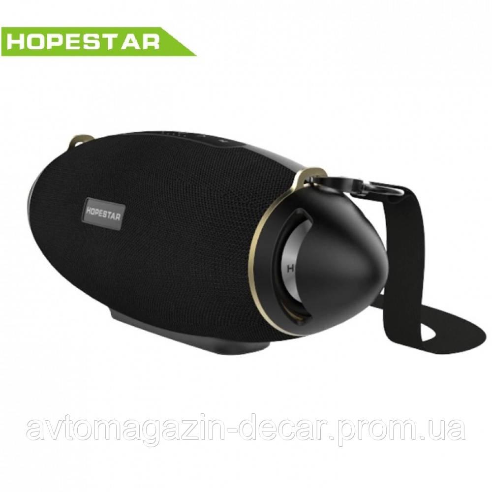 Колонка  HopeStar H 20+ (Bluetooth/FM,MicroCD,USB,AUX)+саб Черный