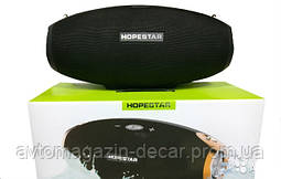 Колонка  HopeStar H 25 (Bluetooth/FM,MicroCD,USB,AUX)+саб Черный
