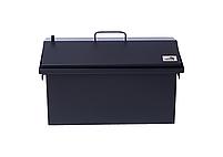 Коптильня для горячего копчения до 6 кг Крышка Домиком 520х300х310 окрашенная, фото 7