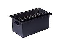 Коптильня для горячего копчения до 6 кг Крышка Домиком 520х300х310 окрашенная, фото 8