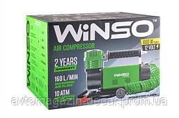 "Компрессор - ""Winso"" 129000 - 12v - 600вт - 160л - 10атм - 14А (от клемм)  (6шт/ящ)"