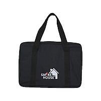 Раскладной мангал чемодан на 6 шампуров из нержавеющей стали с сумкой и решеткой, фото 8