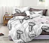 Полуторный комплект постельного белья из хлопка Полуторний комплект постільної білизни 1.5-спальный S458, фото 2