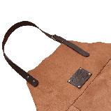 Фартук кожаный фирменный для мангала Holla Grill, фото 4