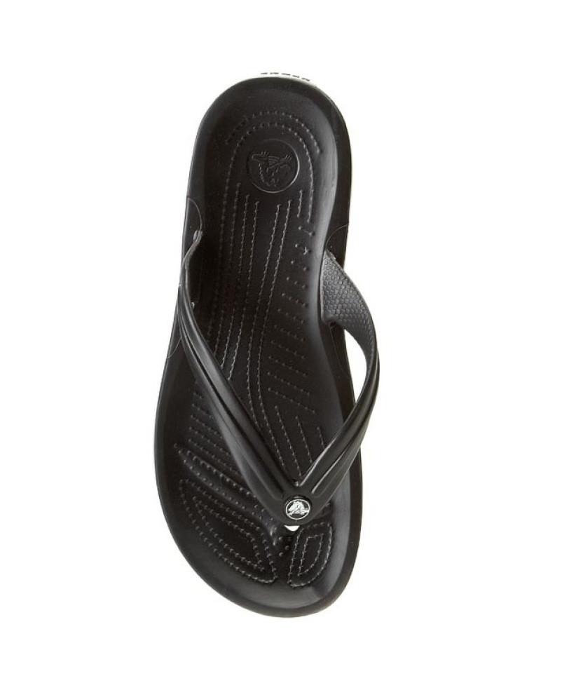 CROCS Crocband™ Flip-Flop Black Мужские Женские Кроксы шлепанцы