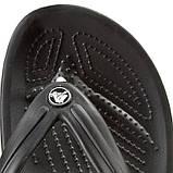 CROCS Crocband™ Flip-Flop Black Мужские Женские Кроксы шлепанцы, фото 5