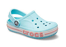 CROCS Kids' Bayaband Clog Ice Blue Детские Кроксы Сабо
