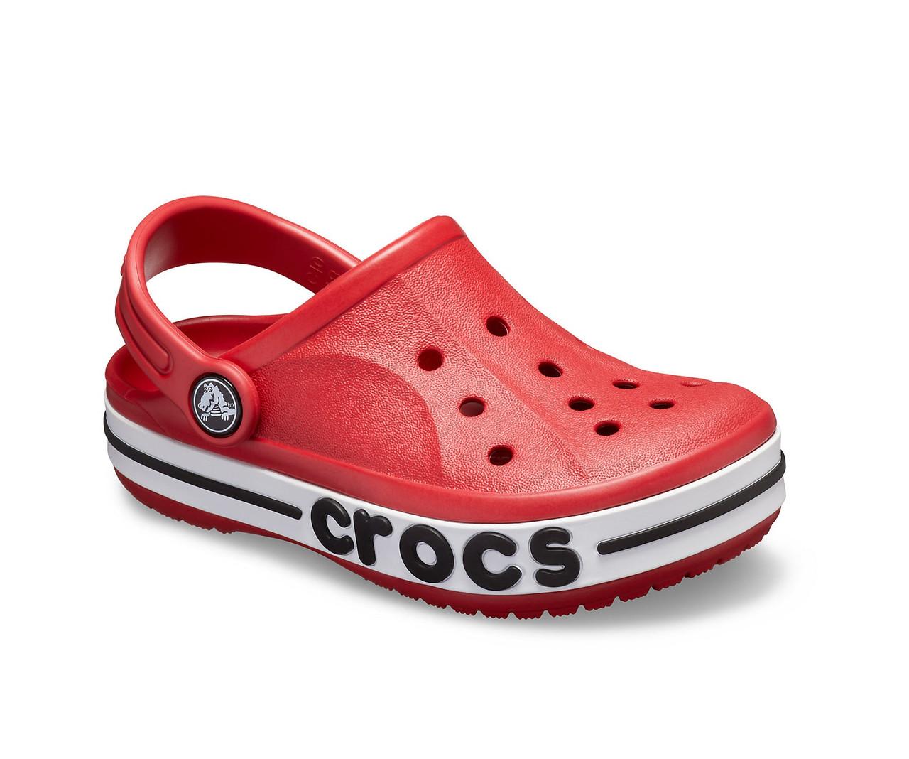 CROCS Kids' Bayaband Clog Pepper Детские Кроксы Сабо