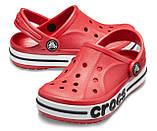 CROCS Kids' Bayaband Clog Pepper Детские Кроксы Сабо, фото 2