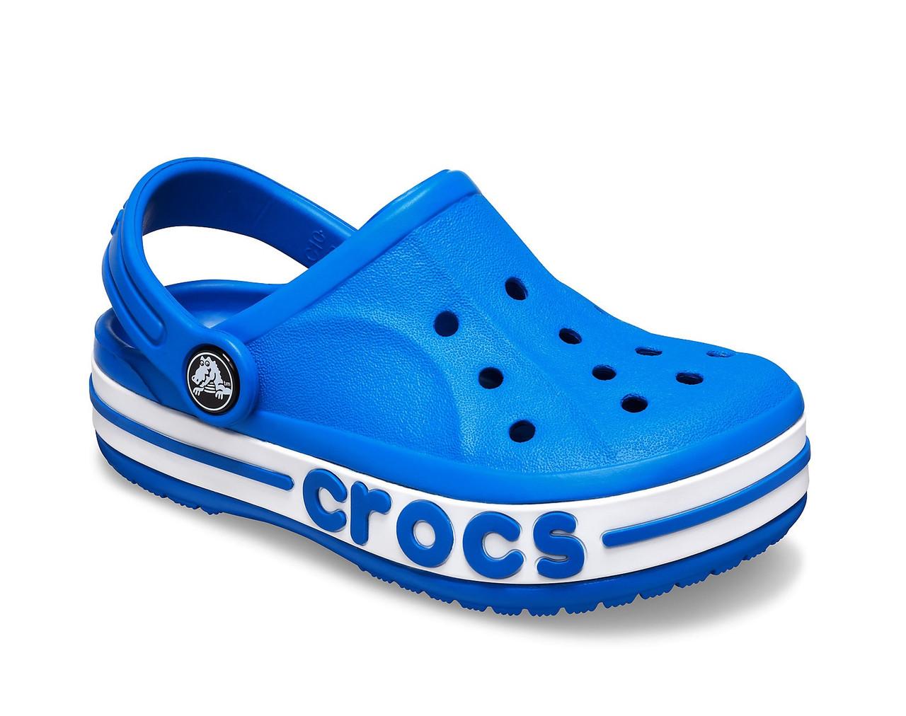 CROCS Kids' Bayaband Clog Bright Cobalt Детские Кроксы Сабо