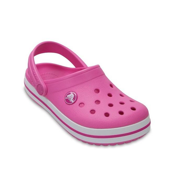 CROCS Kids' Crocband™ Clog Party Pink Детские Кроксы Сабо