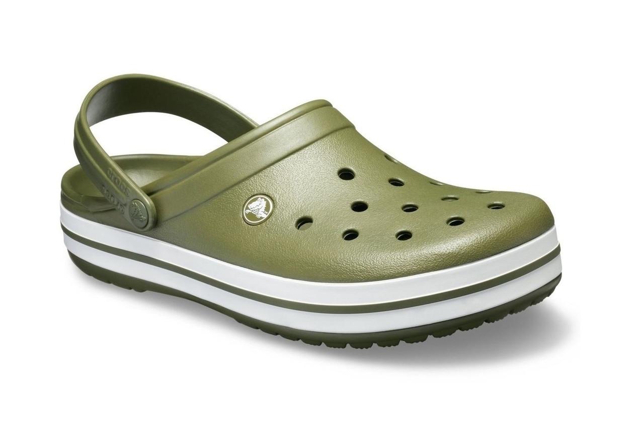 CROCS Crocband™ Clog Army Green Мужские Кроксы Сабо