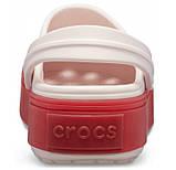 CROCS Crocband™ Platform Barley Pink / Pepper Женские Кроксы Сабо, фото 5