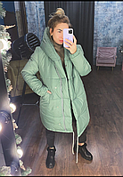 Женская зимняя куртка «Зефирка» силикон 300 новинка 2020