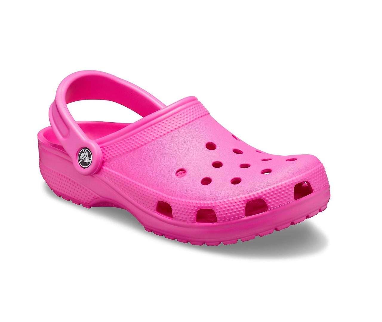 CROCS Classic Clog Electric Pink Женские Кроксы Сабо