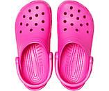 CROCS Classic Clog Electric Pink Женские Кроксы Сабо, фото 3