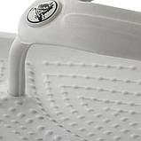 CROCS Crocband™ Flip-Flop White Женские Мужские Кроксы Шлепанцы, фото 4