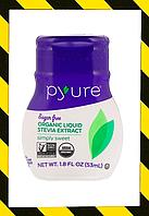 Pyure, Органический экстракт стевии, стевия жидкая,  200 порций (53 ml)