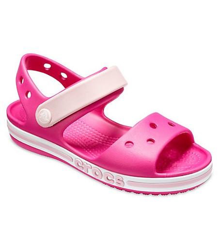 CROCS Kids' Bayaband Sandal Candy Pink Детские Кроксы Сандалии