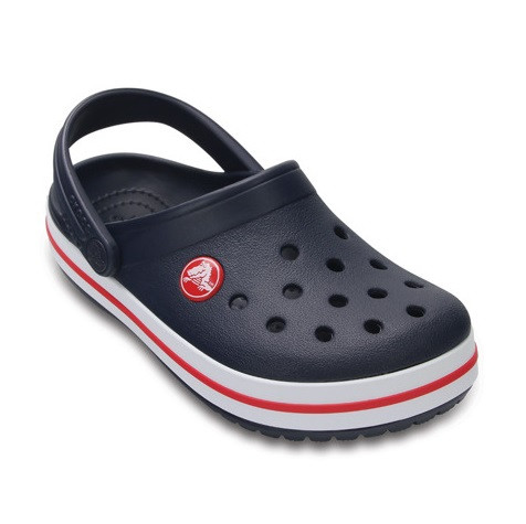 CROCS Kids' Crocband™ Clog Navy / Red Детские Кроксы Сабо