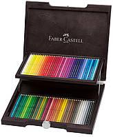 Набор акварельных карандашей 72 цвета Faber-Castell Albrecht Durer в деревянном пенале, 117572
