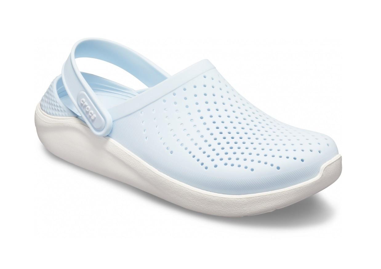 CROCS LiteRide™ Clog Mineral Blue / White Женские Кроксы Сабо