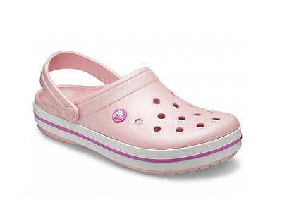 CROCS Crocband Clog Pearl / Pink 11016 Женские Кроксы Сабо M4W6 - 36 размер - длина стельки 22,5-23 см