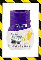 Pyure, Органический экстракт стевии, стевия жидкая с Ванилью,  200 порций  (53 ml)