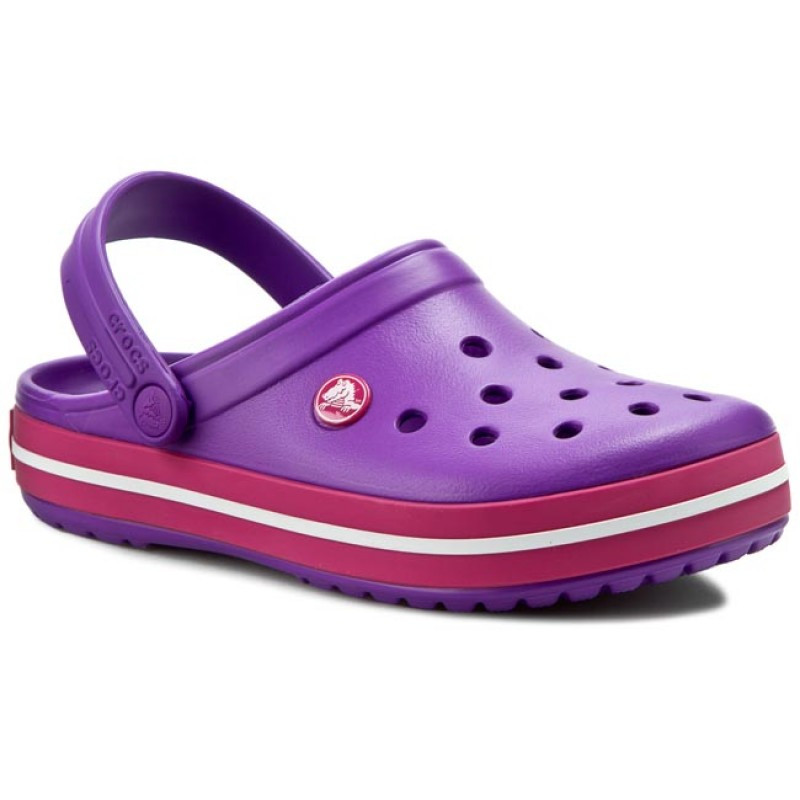 CROCS Crocband™ Clog Purple / Candy Pink
