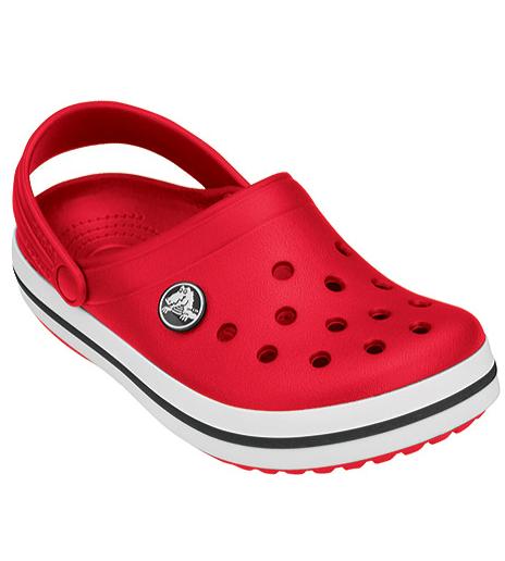 CROCS Crocband™ Clog Red Женские Мужские Кроксы Сабо