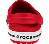 CROCS Crocband™ Clog Red Женские Мужские Кроксы Сабо, фото 4