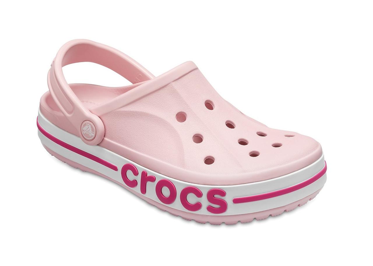 CROCS Bayaband Clog Petal Pink / Candy Pink Женские Кроксы Сабо