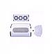 Вытяжка для маникюра мощная 60ВТ, маникюрная, пылесос для рук 3 винта, фото 2