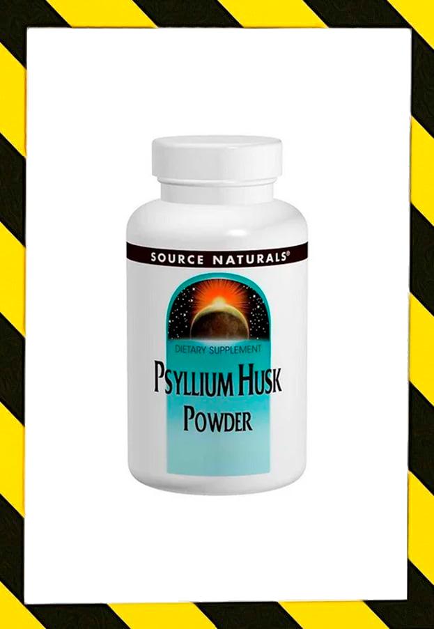 Source Naturals, Порошок из шелухи семян подорожника, Psyllium  340 г