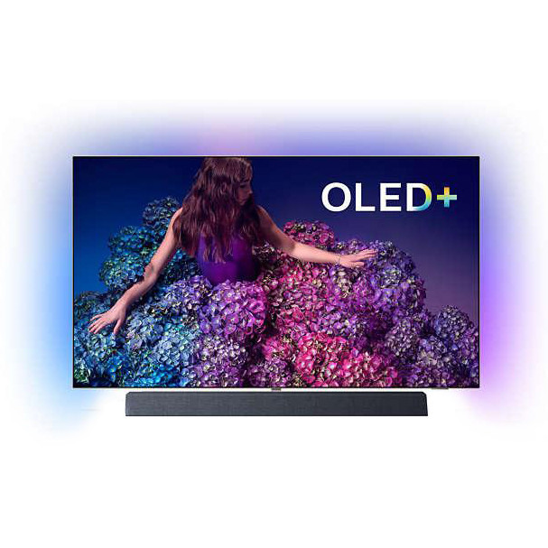 Телевізор Philips 65OLED934/12 (PPI 5000, UltraHD 4K, Dolby Vision, Perfect Natural Motion, Android TV 9, HDR)