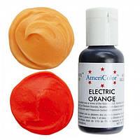 Гелевый краситель Americolor (ярко-оранжевый), 21 гр., фото 1