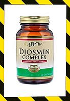LifeTime Vitamins, Комплекс диосмин, прочность капилляров кровеносных сосудов и тонус вен 60 капсул