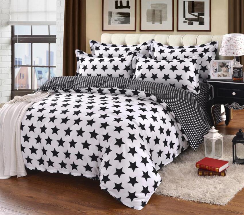 Полуторный комплект постельного белья из хлопка Полуторний комплект постільної білизни 1.5-спальный S465