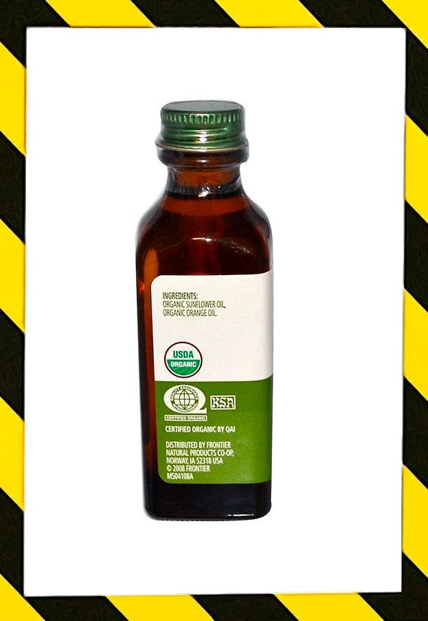 Simply Organic,Органический Апельсиновый ароматизатор из апельсинового масла (59 мл)