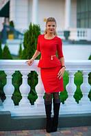 Платье французской длины с молниями 3 цвета