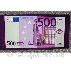 """Полотенце пляжное  """"500 евро"""""""