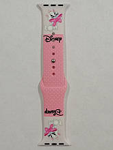 Ремешок Apple Watch Silicone DISNEY 42/44mm Kitty Marie Pink