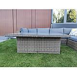 Комплект уличной плетеной мебели JENNY, фото 3