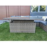 Комплект уличной плетеной мебели JENNY, фото 4